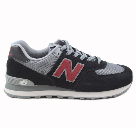 New Balance Herren Sneaker ML574ESU Black/Red