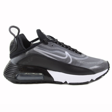Nike Damen Sneaker Air Max 2090 Black/White-Metallic Silver