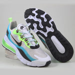 Nike Herren Sneaker Air Max 270 React SE Oracle Aq/Blk-Ghost Grn