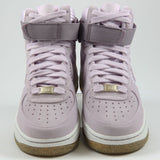 Nike Damen Sneaker Air Force 1 HI PRM Bleached Lilac