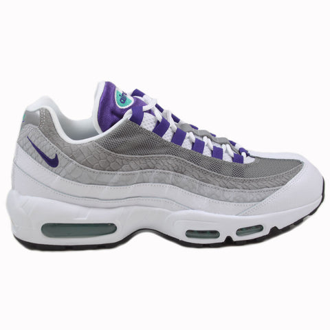 Nike Herren Sneaker Air Max 95 LV8 White/Court Purple