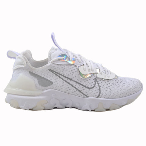 Nike Herren Sneaker NSW React Vision Ess Wht/Particle Gry-Wht