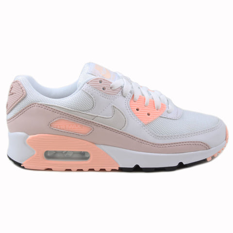 Nike Damen Sneaker Air Max 90 White/Platinum Tint