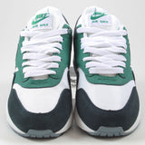 Nike Herren Sneaker Air Max 1 Essential White/Black-Lucid Green