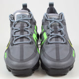 Nike Herren Sneaker Air Vapormax 2019 DRT Cool Grey/Black-Volt