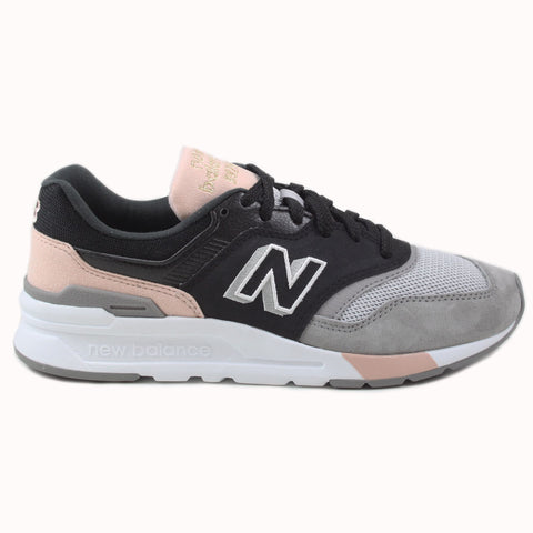 New Balance Damen Sneaker CW997HAL Black/Grey-Rose