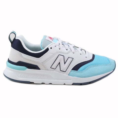 New Balance Damen Sneaker CW997HAZ White/Blue