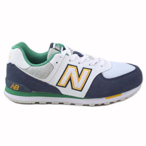 New Balance Damen Sneaker GC574NLB White/Blue-Green