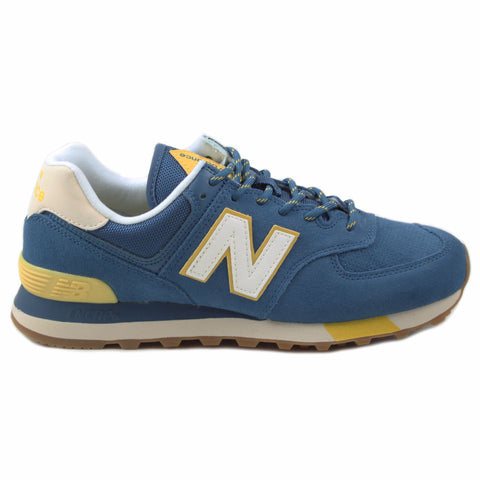 New Balance Herren Sneaker ML574JHP Blue/Yellow
