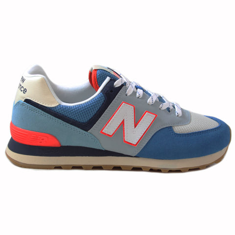 New Balance Herren Sneaker ML574SOS Blue/White