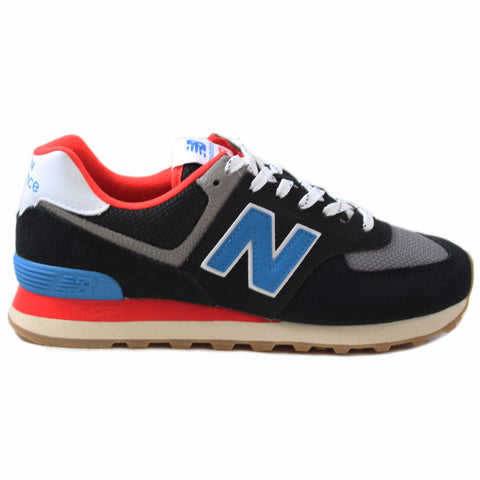 New Balance Herren Sneaker ML574SOV Black/Blue