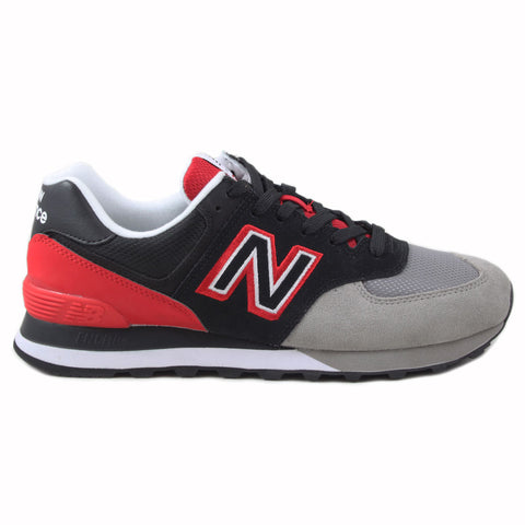 New Balance Herren Sneaker ML574UPX Grey/Red