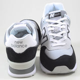 New Balance Herren Sneaker ML574NLC White/Black