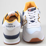 New Balance Herren Sneaker ML574NLD White/Yellow-Blue