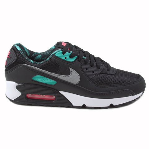 Nike Damen Sneaker Air Max 90 CL Black/Particle Grey-New Green