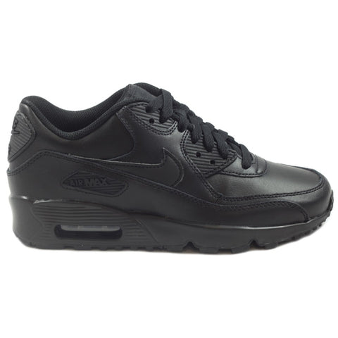 Nike Damen Sneaker Air Max 90 Leather Black/Black