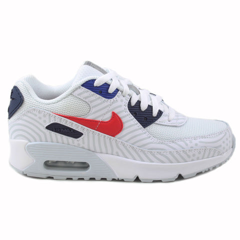 Nike Damen Sneaker Air Max 90 White/University Red