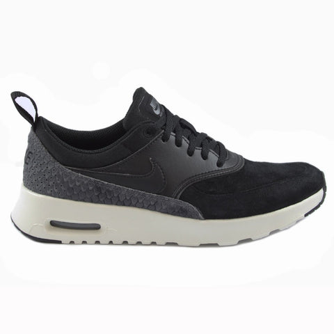 Nike Damen Sneaker Air Max Thea Ultra PRM Black/Black-Sail-Dark Grey
