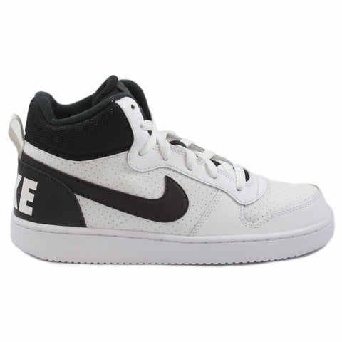 Nike Damen/Kinder Sneaker Court Borough Mid White/Black