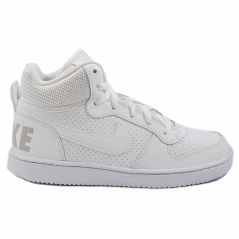 Nike Damen/Kinder Sneaker Court Borough Mid Wht/Wht-Wht