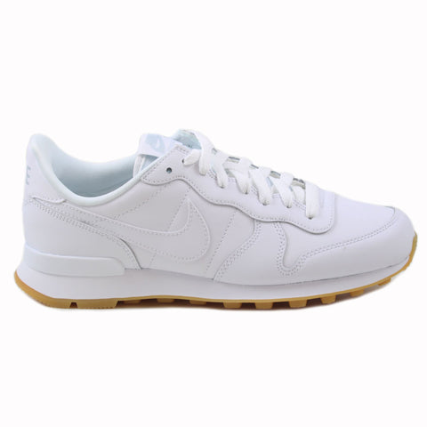 Nike Damen Sneaker Internationalist White/White-White