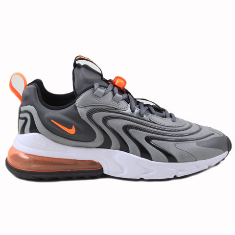 Nike Herren Sneaker Air Max 270 React ENG Iron Grey/Total Orange