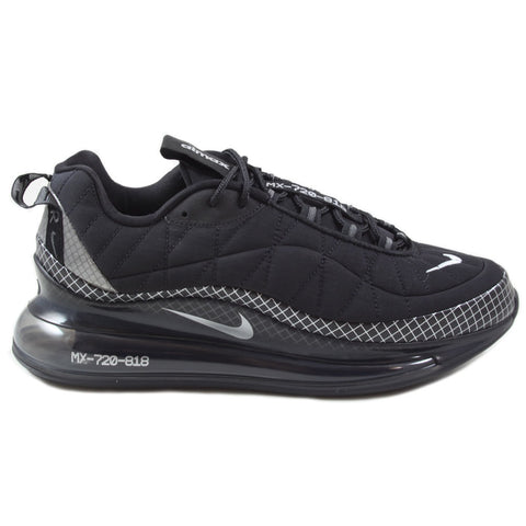 Nike Herren Sneaker MX-720-818 Black/Metallic Silver-Black