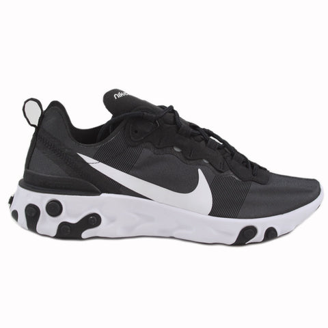 Nike Herren Sneaker React Element 55 Black/White