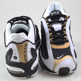 Nike Herren Sneaker Air Max Tailwind IV Black/Metallic Gold-White