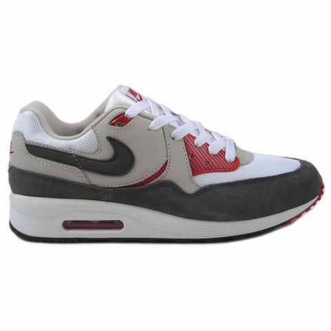 Nike Herren Sneaker Air Max Light Ess Wht/Mdm Ash-Gym Rd-Lght