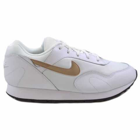 Nike Damen Sneaker Outburst White/Metallic Gold-Black