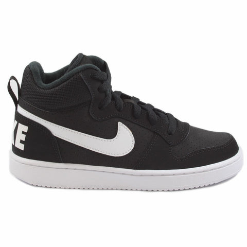 Nike Damen/Kinder Sneaker Court Borough Mid Black/White