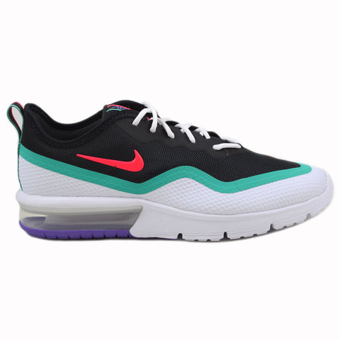 Nike Herren Sneaker Air Max Sequent 4.5 Red Orbit/White-Kinetic Green