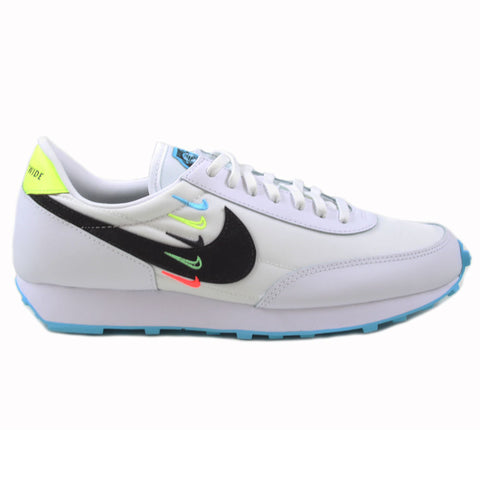 Nike Damen Sneaker Dbreak SE WW White/Black-Blue Fury-Volt