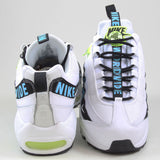 Nike Herren Sneaker Air Max 95 SE White/Blue Fury-Volt-Black