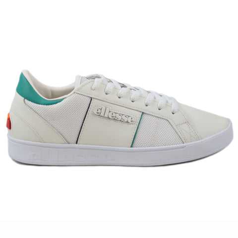 Ellesse Herren Sneaker LS-80 LTHR AM Off White/Green