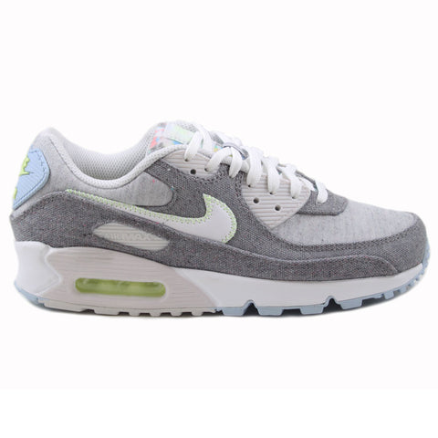 Nike Damen Sneaker Air Max 90 NRG Vast Grey/White-Barely Volt