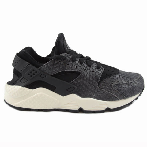 Nike Damen Sneaker Air Huarache Run PRM Blk/Blk-Sail-Dark Gry