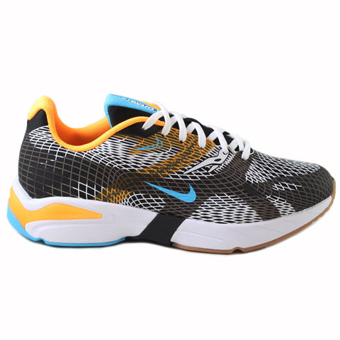 Nike Herren Sneaker Ghoswift Black/Blue Fury-Laser Orange