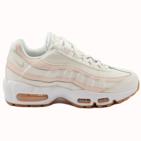 Nike Damen Sneaker Air Max 95 Sail/Guava Ice-Gum Light Brown