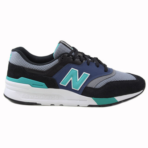 New Balance Herren Sneaker CM997HZK White/Black-Blue