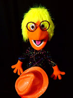 blacklight orange cuzzle puppet