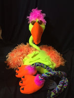 walk about flamingo frank blacklight puppet