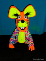 Blacklight Freida Mouse Puppet