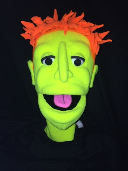 blacklight reid puppet just a head