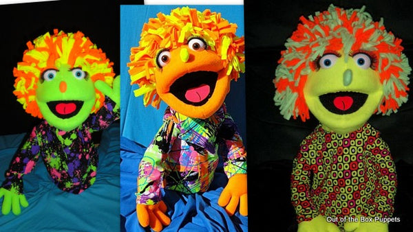 blacklight nancy puppets