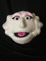 blacklight female cloud puppet