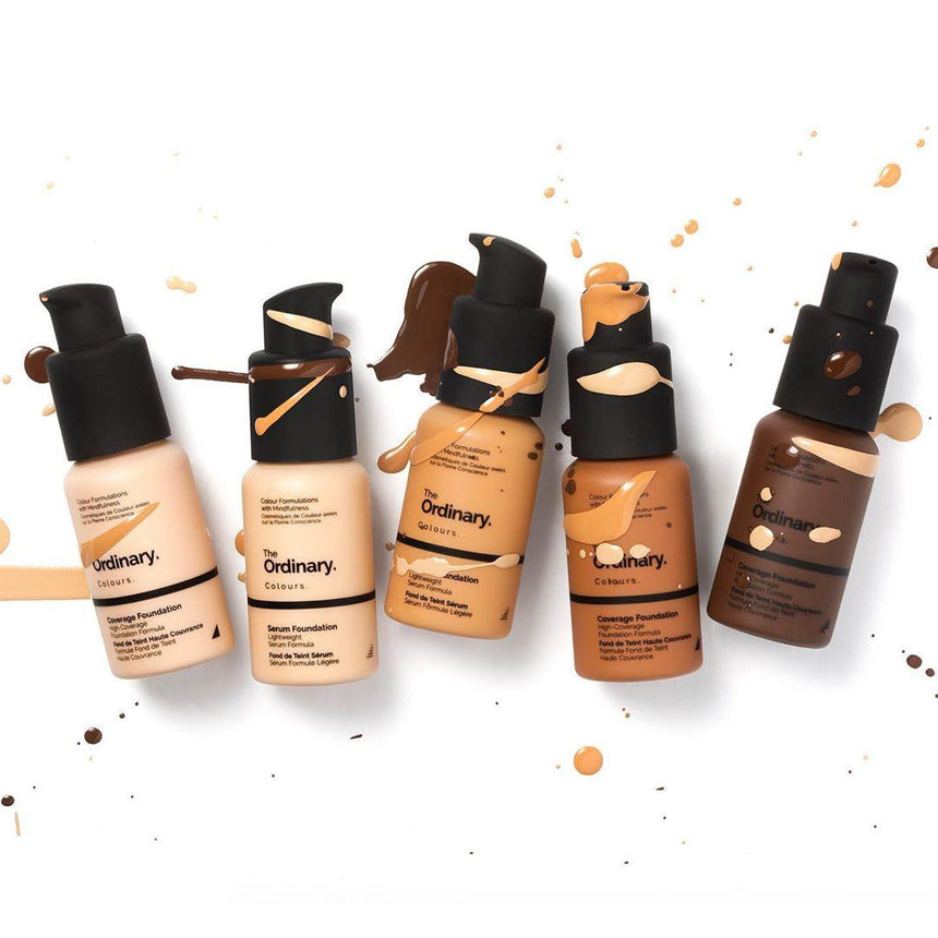 Review kem nền The Ordinary Foundation | Kallos Vietnam