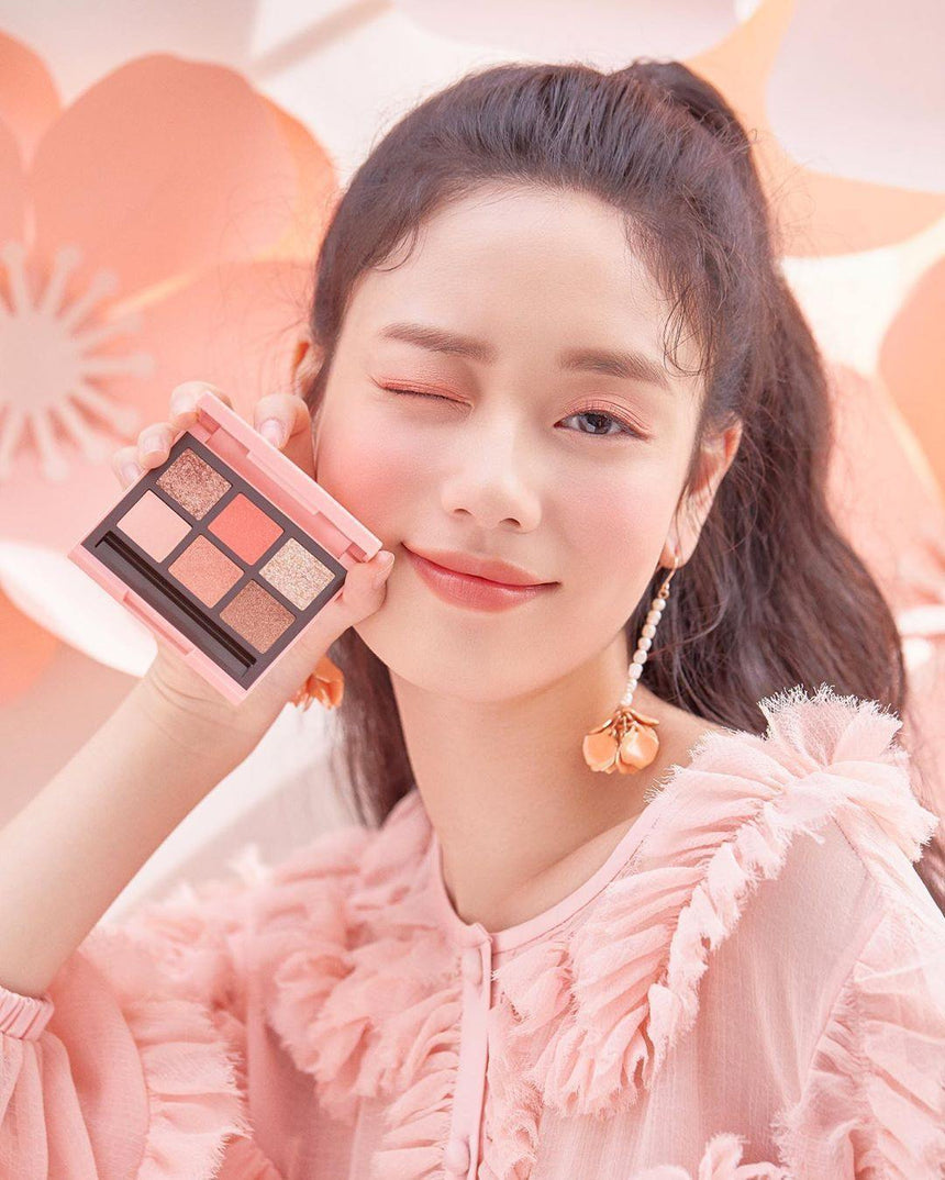 Review phấn mắt Etude House Heart Blossom Play Color | Kallos Vietnam
