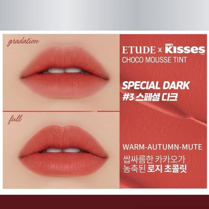 Son Etude House Hershey Kisses Choco Mousse Tint - Kallos Vietnam